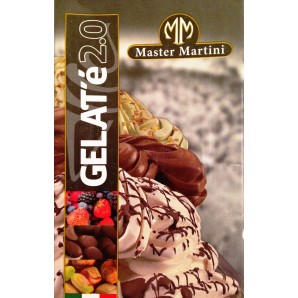 NEW Master Martini GELATO WHITE BASE BIANCO PLUS 5L Bag In Box